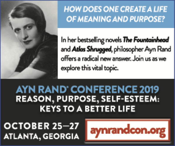 Ayn Rand Conference 2019